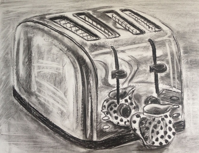 Shadow and reflected light - toaster