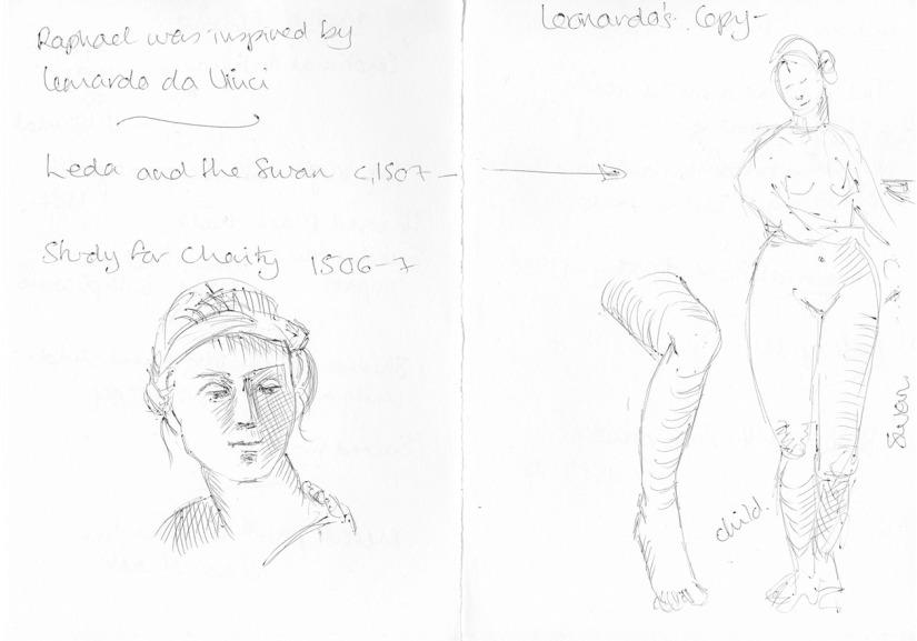 sketches - Raphael exh
