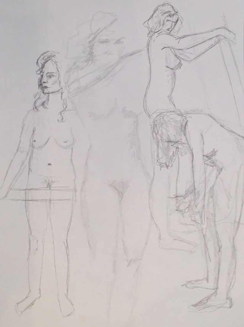 life drawing studies