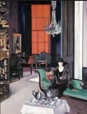 'The Orange Blind' c.1928, by Francis Cadell