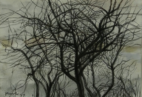 Henry Moore - Trees in Winter