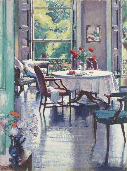 'Interior Summer' Francils Cadell