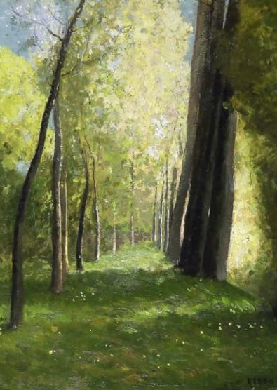 'Lane of Trees' Odilon Redon