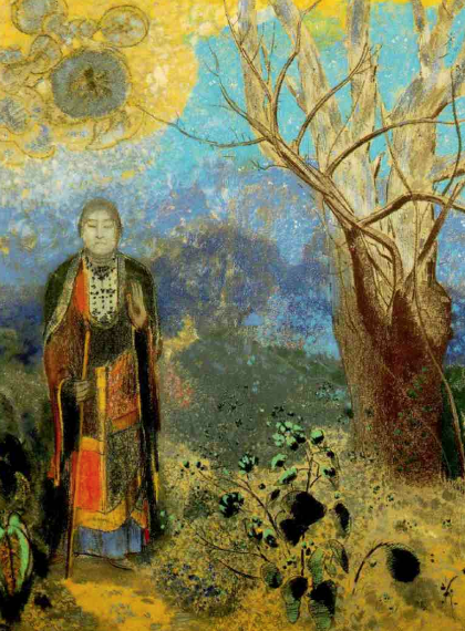 Odilon Redon, The Buddha, 1906-07
