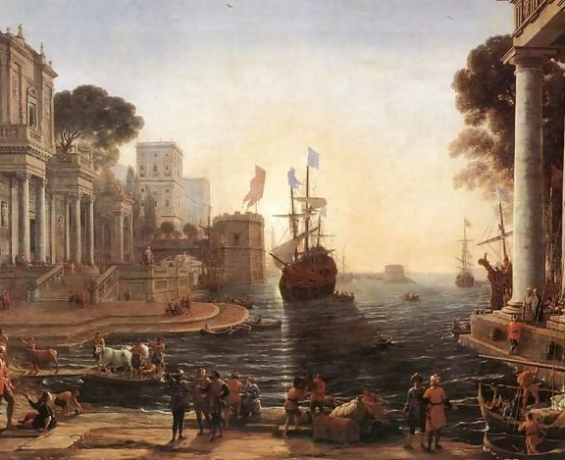 Claude Lorrain - Ulysses Returns Chryseis to her father, 1648