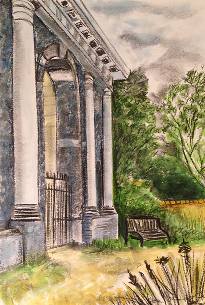 Wycombe Hill Mausoleum Drawing
