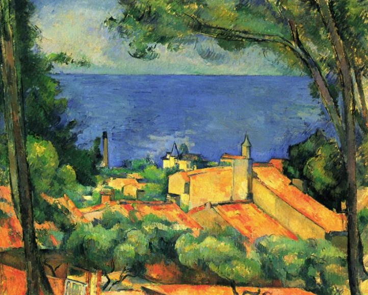 Paul Cezanne, Chateau Noir, c1904