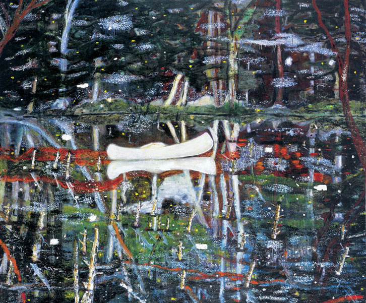 Peter Doig 'White Canoe - 1991