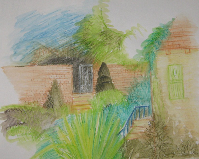 Colour sketch Cav Court