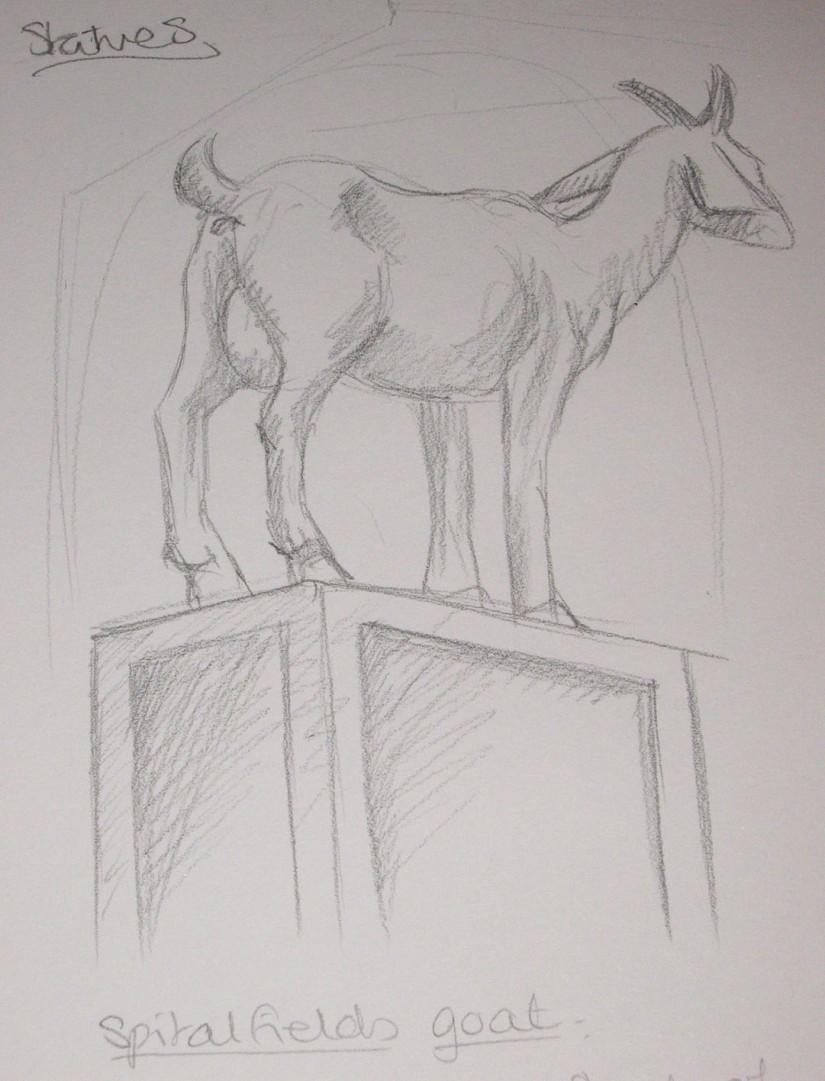 Spitalfield Goat