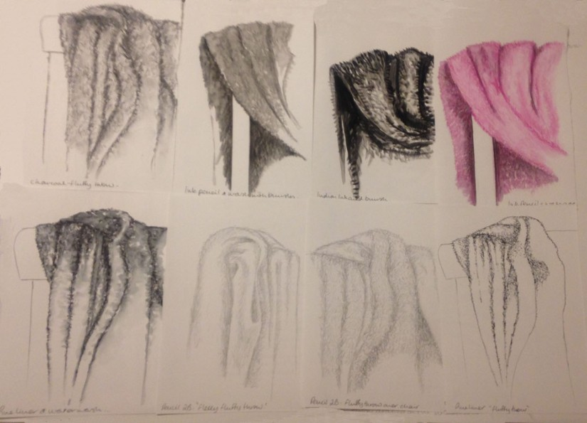 Fabric and form 8 studies