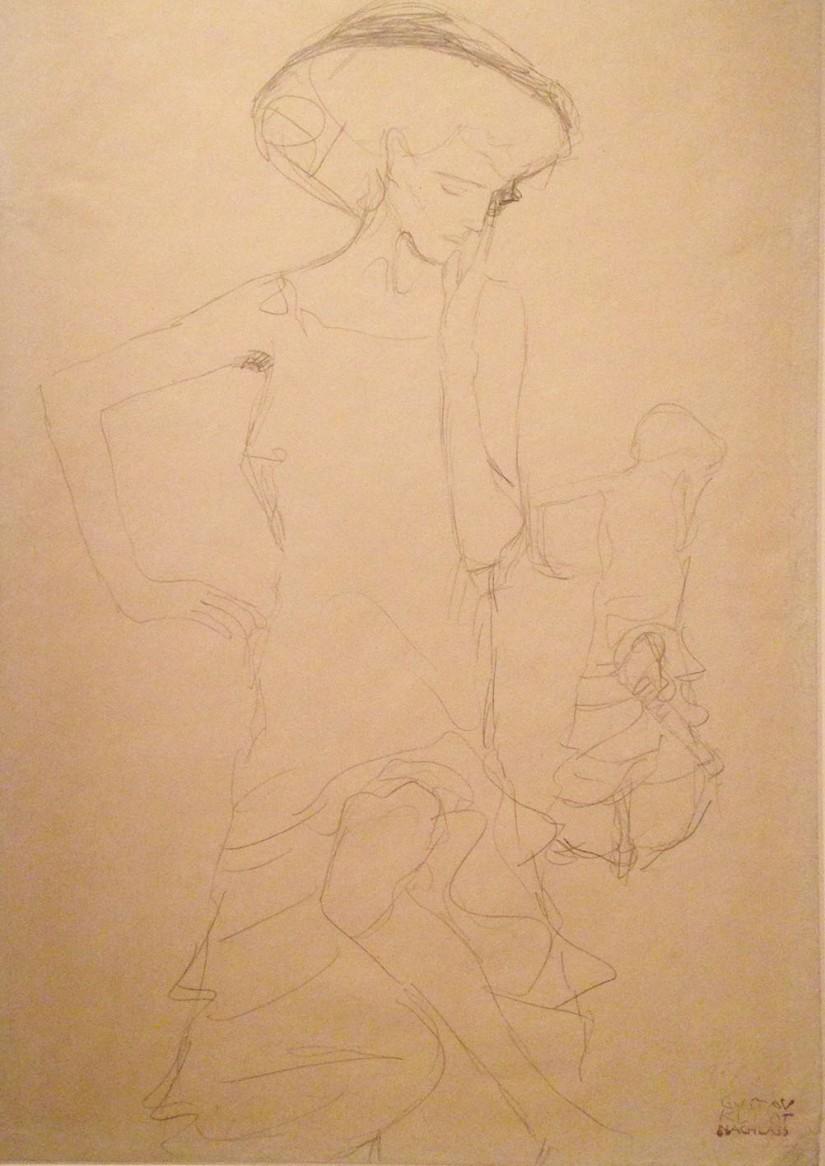 Klimt ~ Judith II sketch
