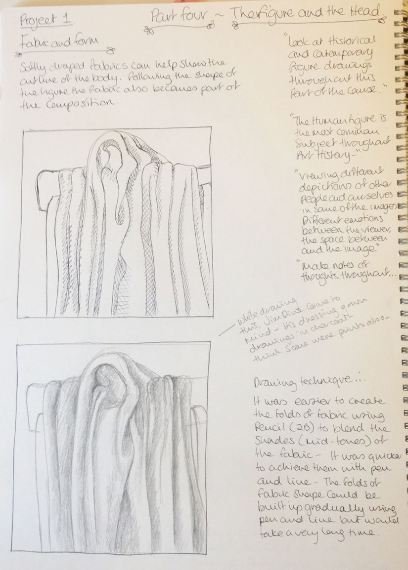 Project 1 ~ exercise 1 cloth studies