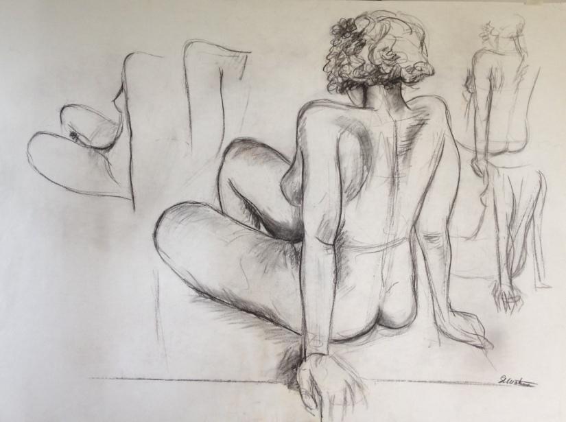 Sitting figure A1