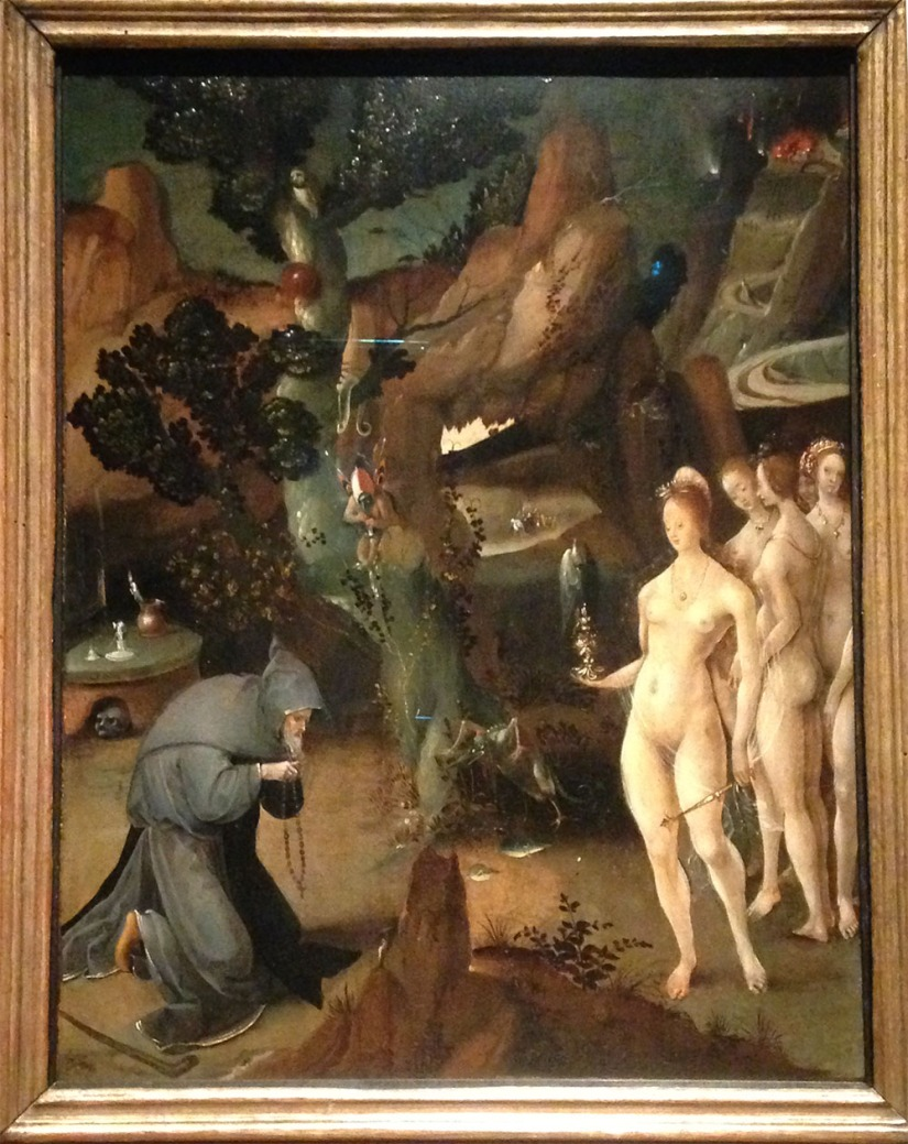 Temptation of saint anthony - Jan Wellens de Cock