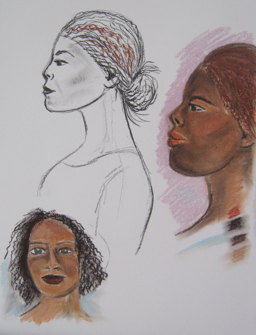Assignment 4 ~ A portrait studies
