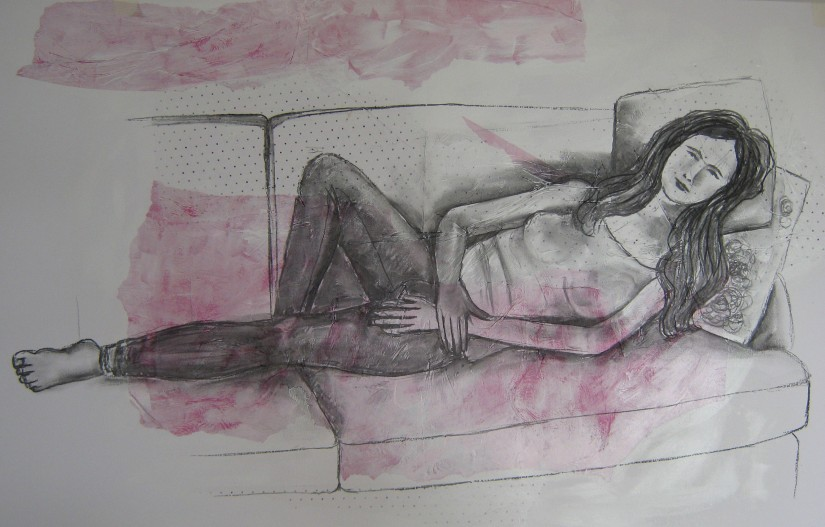 Assignment 4 ~ Reclining Figure tone
