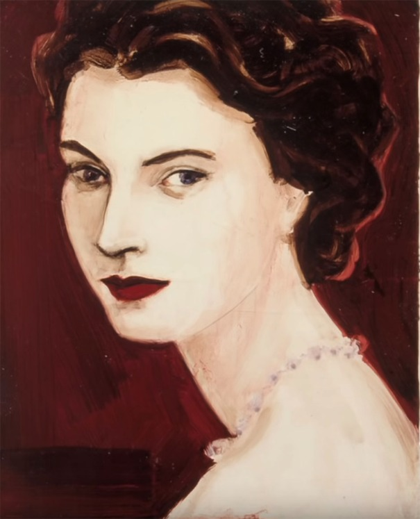 Elizabeth Peyton portraits c the queen