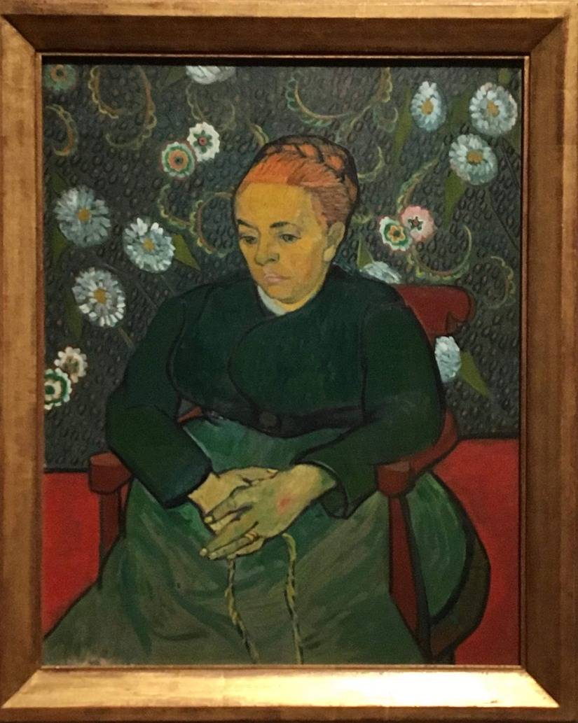 Van Gogh - Portrait Female figure