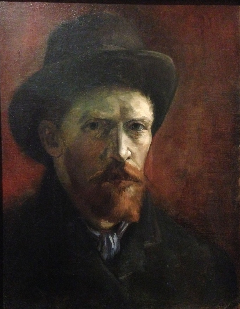Van Gogh - Self Portrait with Felt Hat