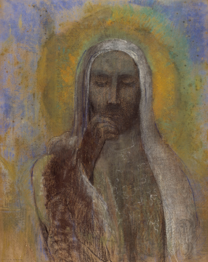 Christ In Silence, by Odilon Redon in 1897