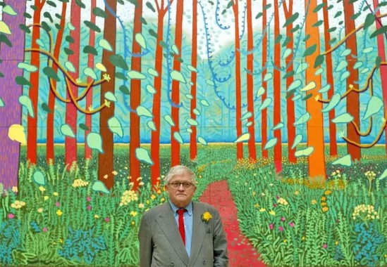 David Hockney ~ A bigger picture