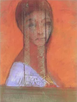 Odilon Redon Woman with veil