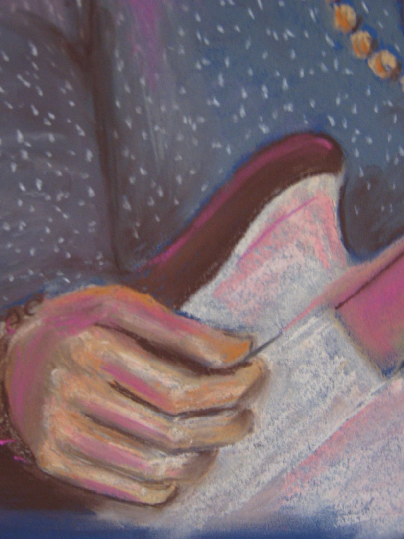 Musican Drawing Two detail 1
