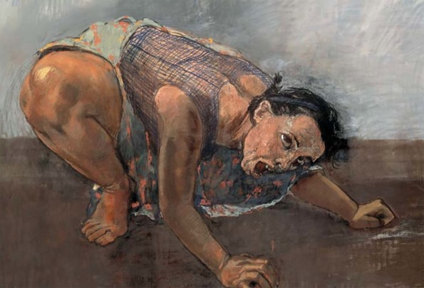 Paula Rego 'Dog Woman'