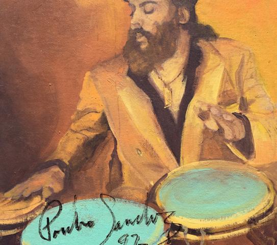 Poncho Santes - Jazz Hall _ Suzanne Cerny