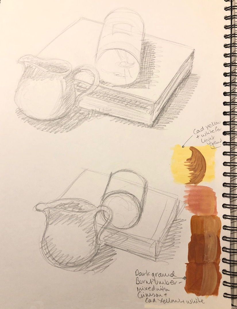 Sketches for tonal studies 2