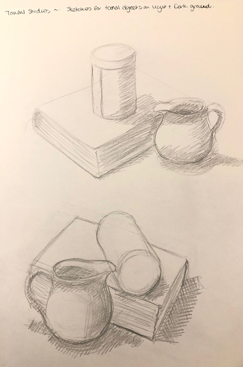Sketches for tonal studies