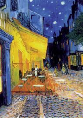 Cafe Terrace at night 1888 Van Gogh
