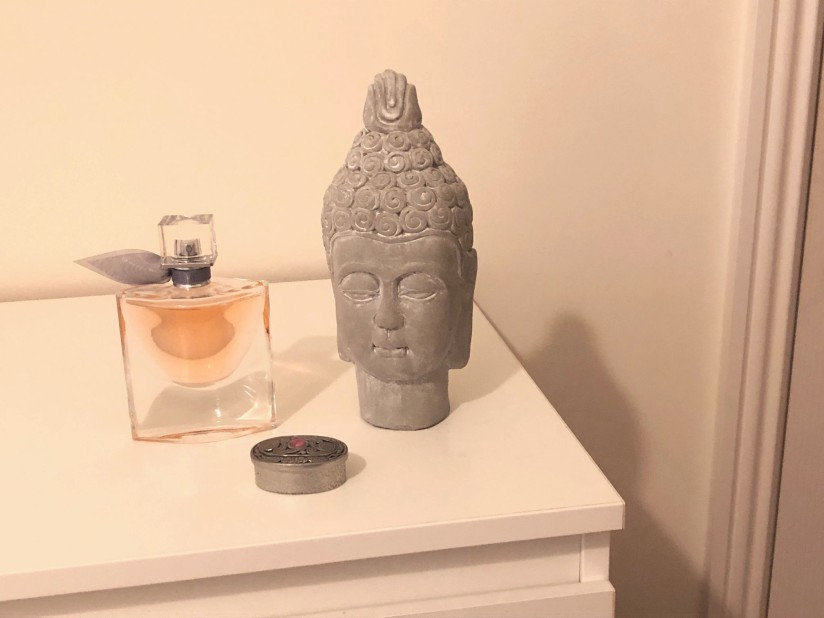 Assignment 2 ~ Buddha and Perfume still life