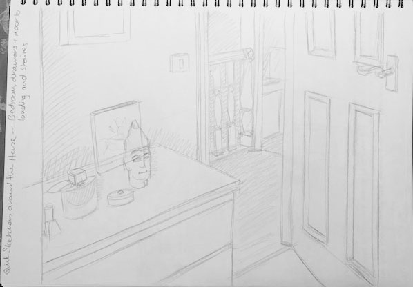 Quick Sketches around the house A
