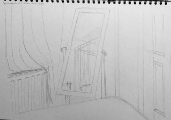 Quick Sketches around the house c