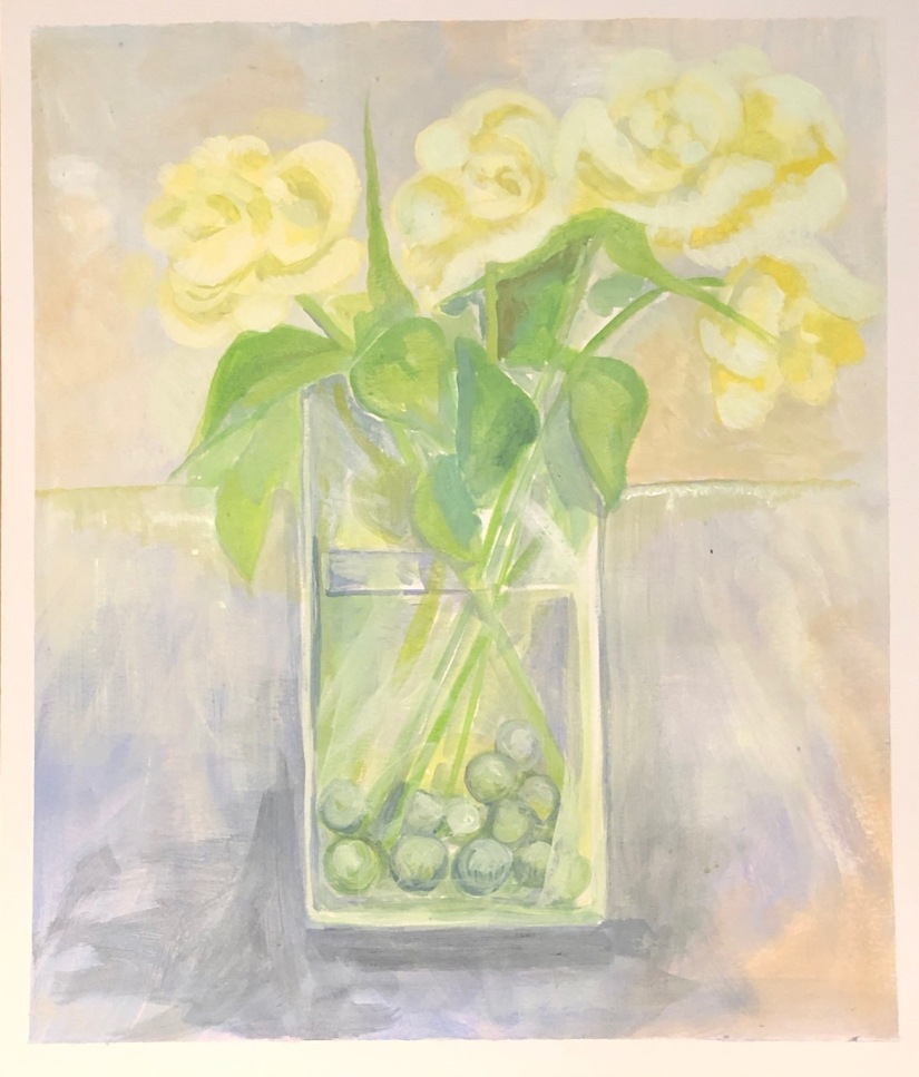 Roses to evoke mood calming