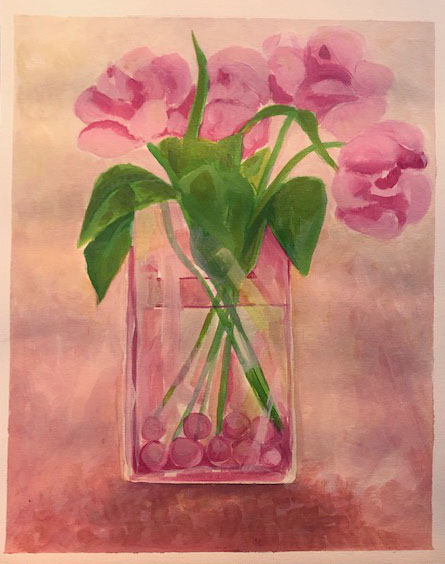 Still Life with complimentary colours B
