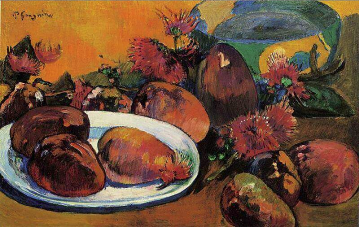 Still Life with Magoes, Guaguin 1893