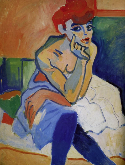 André Derain - Woman in a Chemise