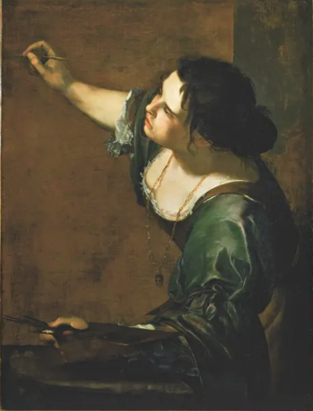 Artemisia Gentileschi – Self-Portrait as the Allegory of Painting (1638-39)