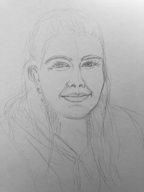 Georgia Portrait sketch