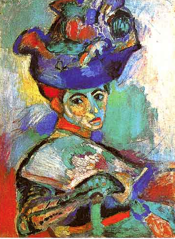 Henri Matisse - Woman with the Hat, Paris - 1904-5