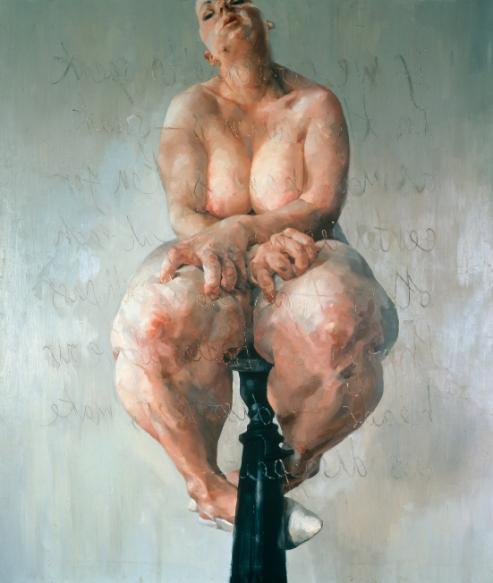 Jenny Saville 'Propped' 1992