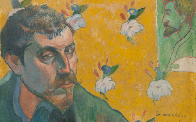 Self Portrait of Emile Bernard, 1887. Gauguin