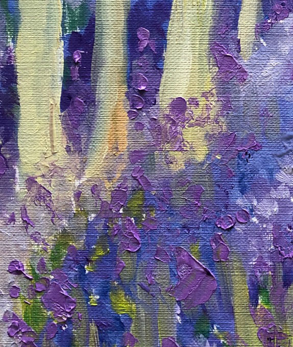 Bluebell wood detail