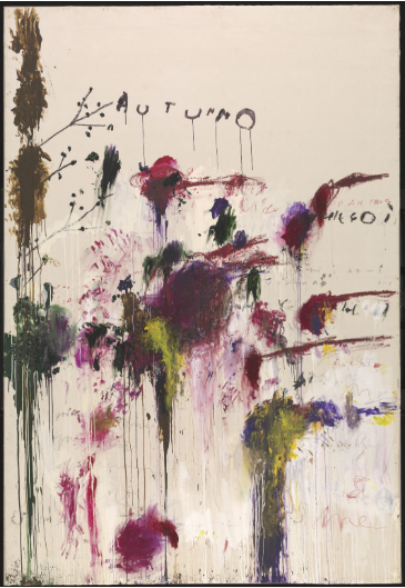 CY Twombly 'Autumn' 1993–5