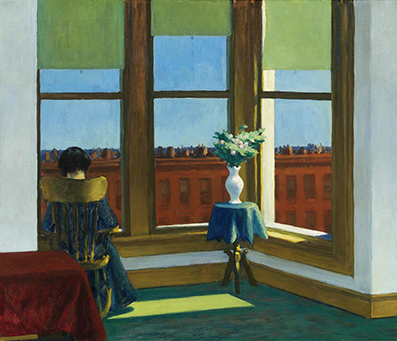 Edward Hopper 'Room in Brooklyn' 1932