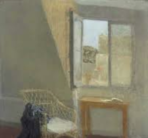 Gwen John 'A corner of artists room in Paris ~ 1907-1909
