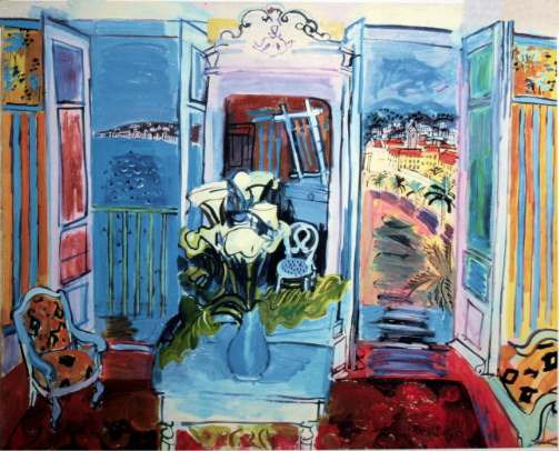 Raoul Dufy ~ Interior with open window (1928)